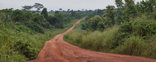 Que ganas de irse de Ghana!!  por Javier de la Varga.