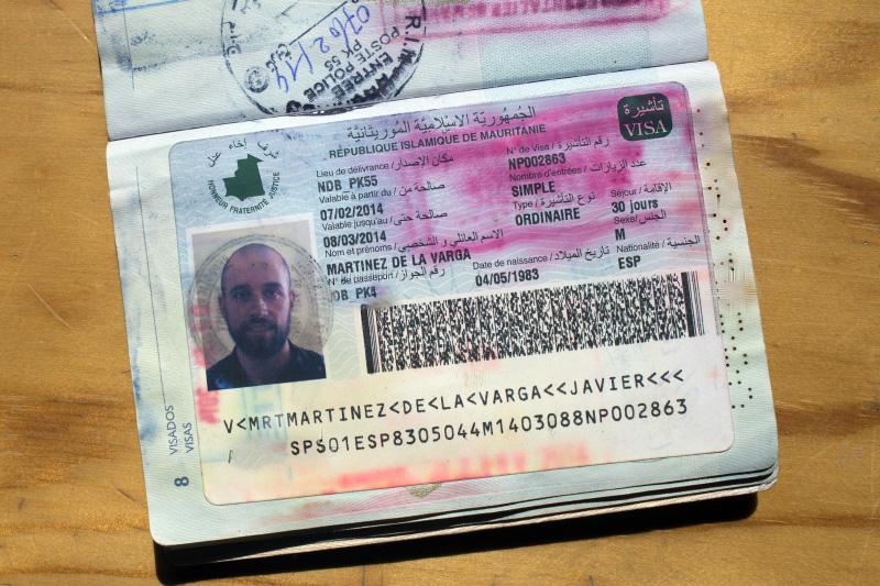 pasaportemauritania